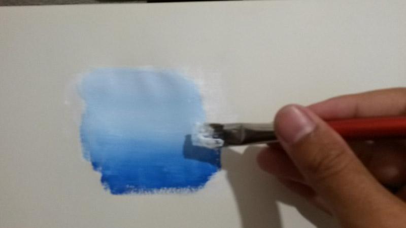 come pitturare con sfumature