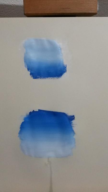 sfumature di colore acrilico