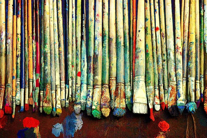 Come dipingere con acrilici e colori ad olio nello stesso quadro