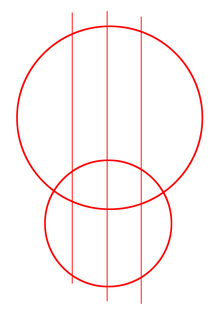 come disegnare un teschio a mano libera