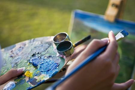 Come realizzare la finitura di un quadro ad olio